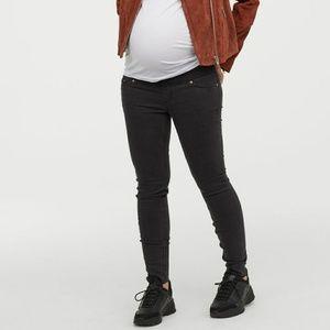 H&M mama skinny jeans black